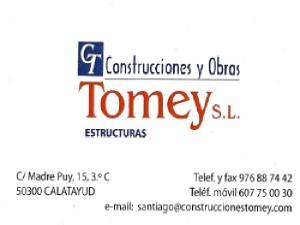 Construcciones y Obras Tomey S.L.